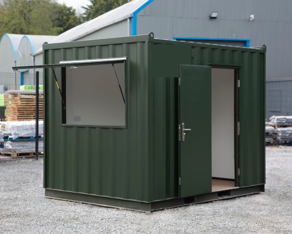 container cabin hire